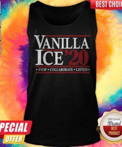 Pretty Vanilla Ice' 20 Stop Collaborate Listen Tank Top