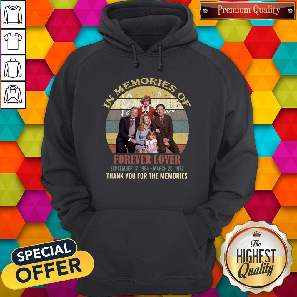 Pro In Memories Of Forever Lover September 17 1964 March 25 1972 Thank You For The Memories Vintage Hoodie