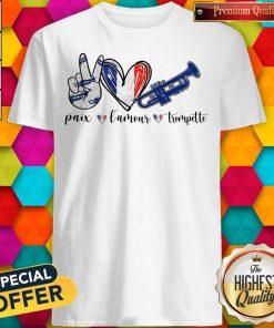 Super Paix Lamour Trompette Shirt