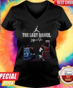 Supper Michael Jordan The Last Dance Signature V-neck