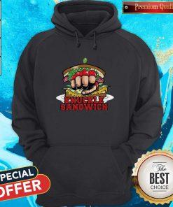 Sweet Vintage Knuckle Sandwich Hoodie