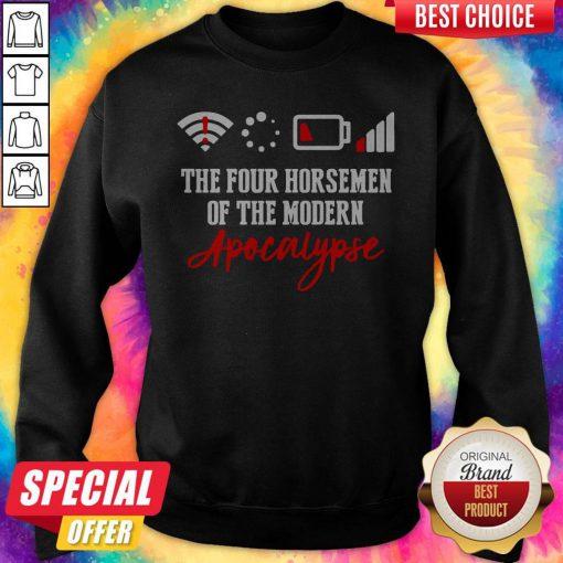 Vip The Four Horsemen Of The Modern Apocalypse Sweatshirt