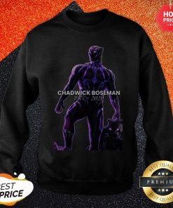 Chadwick Boseman Thank You For The Memories Signature Sweatshirt