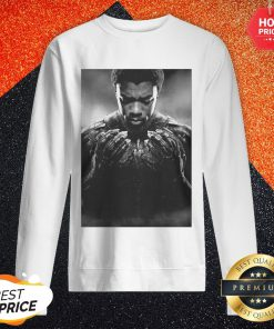 Cool Chadwick Boseman Black Panther 1977 2020 Thank You For The Memories Signature Sweatshirt