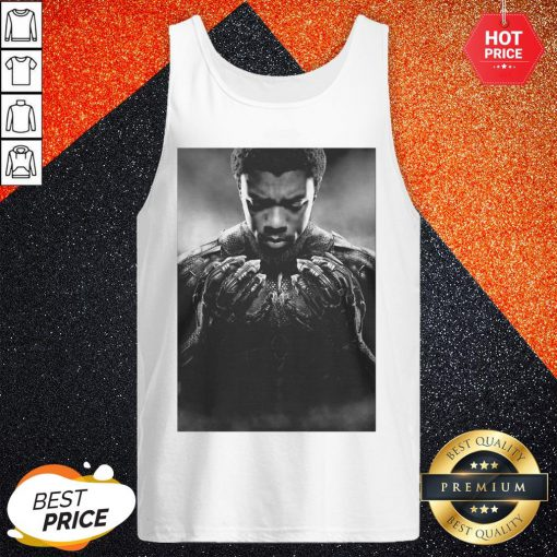 Cool Chadwick Boseman Black Panther 1977 2020 Thank You For The Memories Signature Tank Top