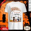 Cute Halloween Horror Characters Tis The Season To Be Spooky Shirt