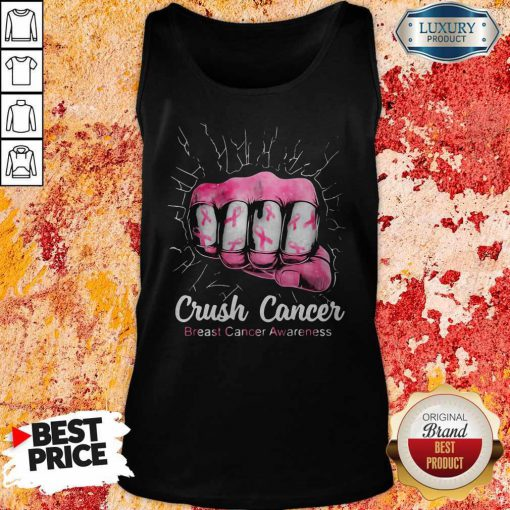 Funny Crush Cancer Breast Cancer Awareness Tank Top
