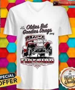 Hot Oldies But Goodies Drags 2013 Firebird Raceway V-neck