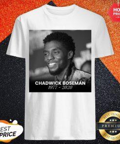 Love Chadwick Boseman 1977 2020 Shirt