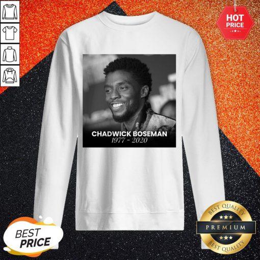 Love Chadwick Boseman 1977 2020 Sweatshirt