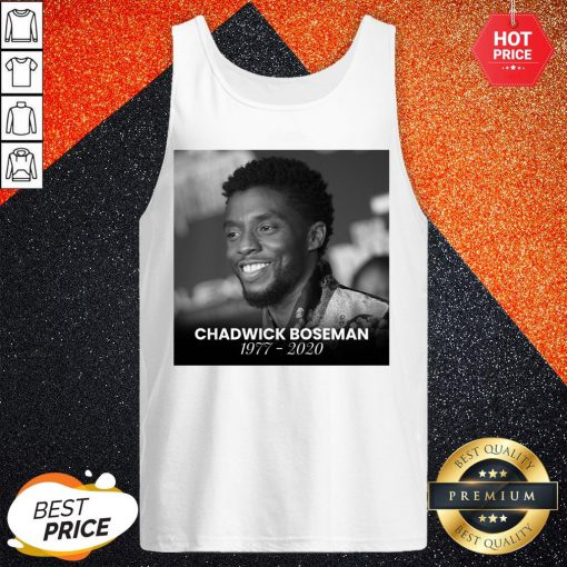 Love Chadwick Boseman 1977 2020 Tank Top