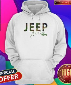 Love I Like Jeep Aholic Hoodie