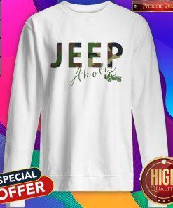 Love I Like Jeep Aholic Sweatshirt