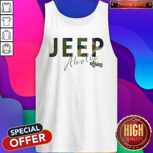 Love I Like Jeep Aholic Tank Top