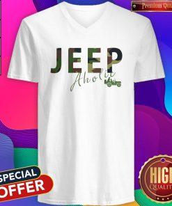 Love I Like Jeep Aholic V-neck