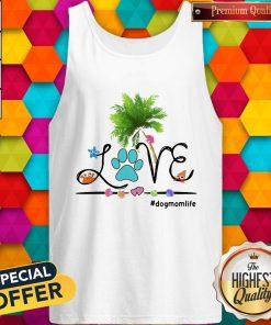 Lovely Dog Love Beach Dogmomlife Tank Top
