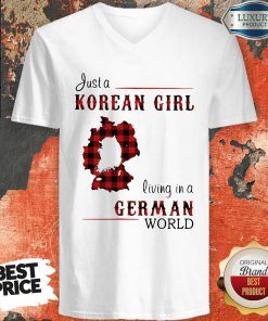 Maybe Just A Korean Girl Living In A German World V-neck