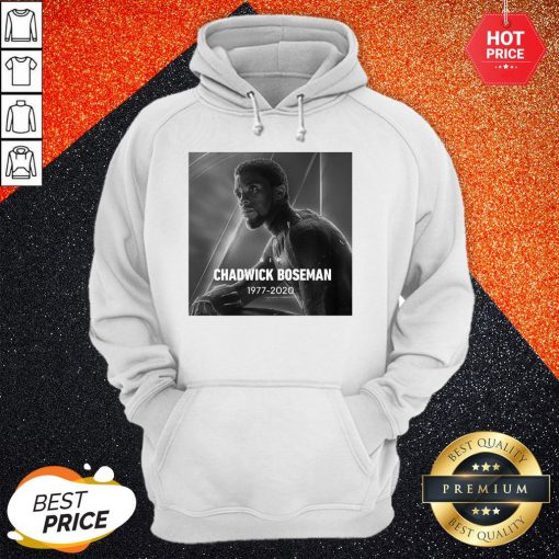 Official Black Panther Thank You For The Memories Signature Hoodie