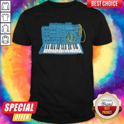 Official Synthesizer Blue Machine Shirt