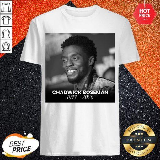 Perfect Black Panther's Chadwick Boseman Shirt