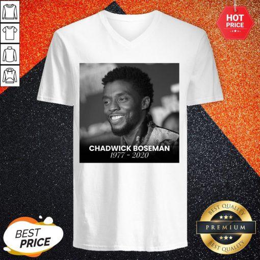 Perfect Black Panther's Chadwick Boseman V-neck
