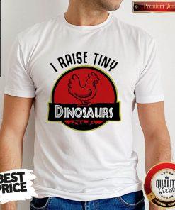 Premium I Aise Tiny Dinosaurs Chicken Shirt