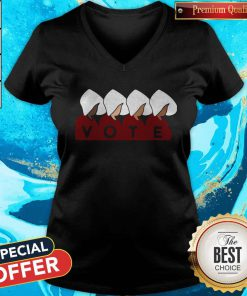 Supper I Want Handmaid's Tale Vote V-neck