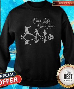 Sweet Football One Life One Love Sweatshirt