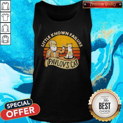 Sweet Little Known Failure Pavlov's Cat Vintage Tank Top