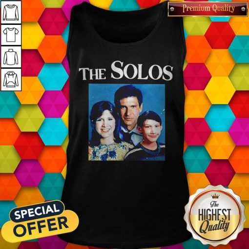 Sweet The Solos Family Star War Tank Top