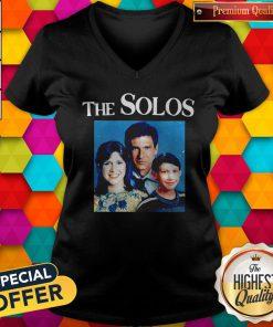 Sweet The Solos Family Star War V-neck