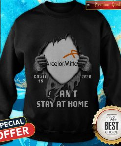 Vip Arcelormittal Inside Me Covid-19 2020 I Can't Stay At Home Sweatshirt