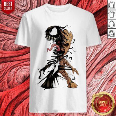 Baby Groot Venom Halloween Shirt