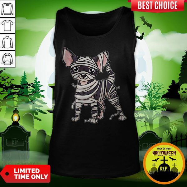 Chihuahua Mummy Chihuahua Lover Halloween Dog Tank Top