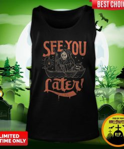 Devil See You Later Happy Halloween Tank Top
