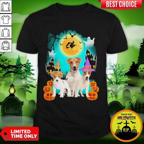 Jack Russell Halloween Dogs Shirt
