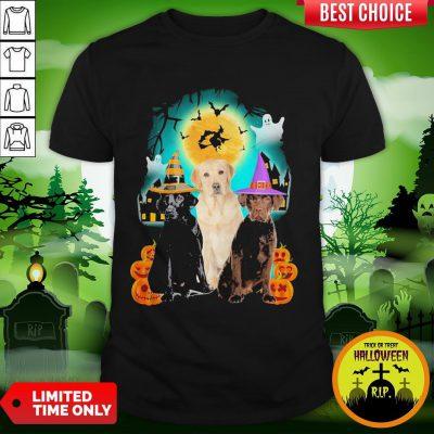 Labrador Retriever Halloween Dogs Shirt