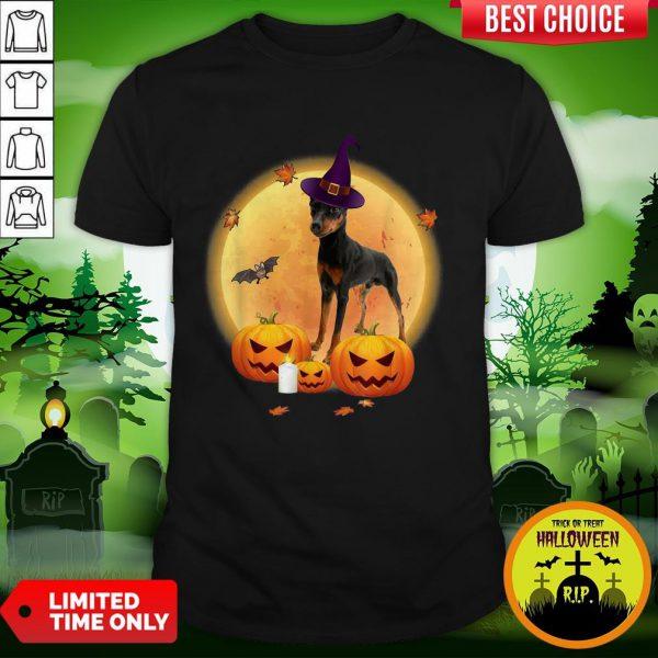 Miniature Pinscher Halloween Shirt