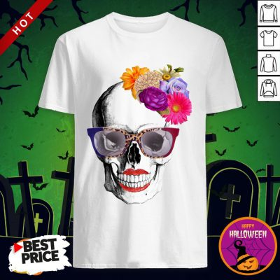 Modern Lady Day Of The Dead Muertos Shirt