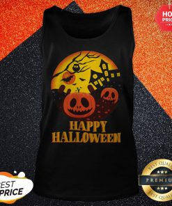 Official Scary Happy Halloween Vibes Tank Top