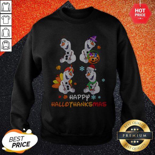 Olaf Happy Hallothanksmas Sweatshirt