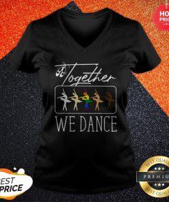 Premium Together We Dance LGBT V-neck