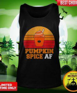 Pumpkin Spice Af Funny Men Husband Halloween Gift Vintage Tank Top