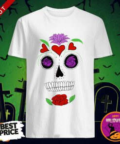 Simple Sugar Skull Day Dead Dia De Los Muertos Shirt