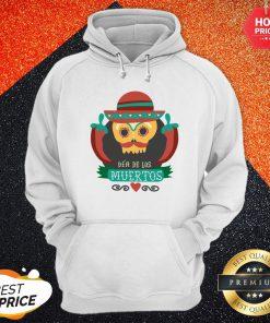 Sugar Skull Black Dia De Muertos Mexico Holiday Hoodie