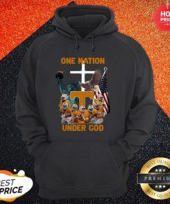 Tennessee Volunteers One Nation Under God Hoodie
