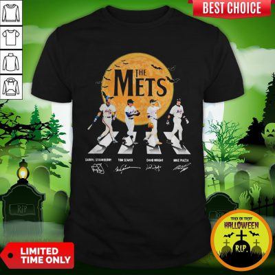 The Mets Halloween Abbey Road Signature Shirt