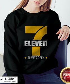 7 Eleven Always Open Sweatshirt