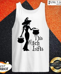 Cute Halloween This Witch Lifts Tank Top
