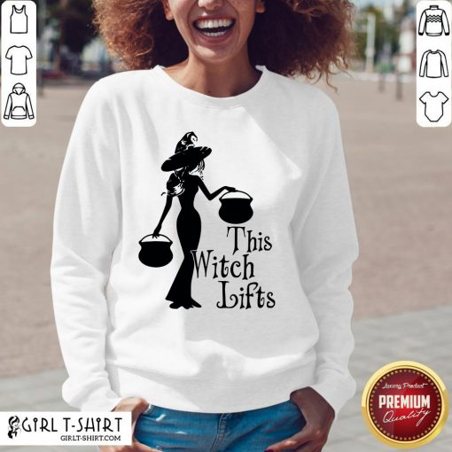 Cute Halloween This Witch Lifts Sweatshirt